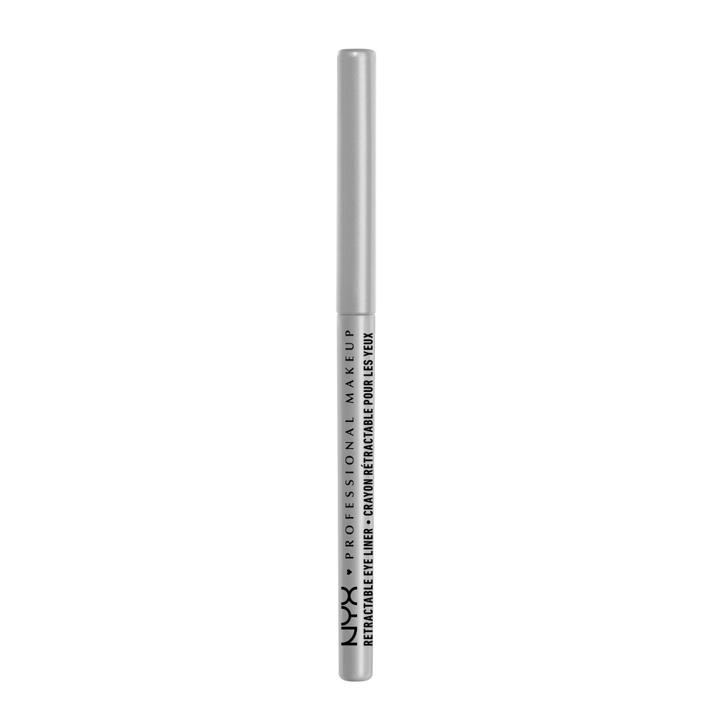 NYX Professional Makeup Retractable Eyeliner Silver - 0.01oz