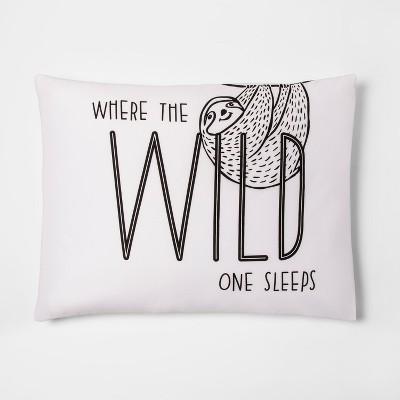 Where the Wild Thing Sleeps Pillow Case - Pillowfort™