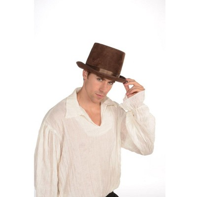 Forum Novelties Steampunk Costume Top Hat Adult: Brown