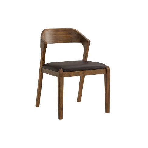 Rasmus Dining Chair Chestnut - Boraam - image 1 of 4