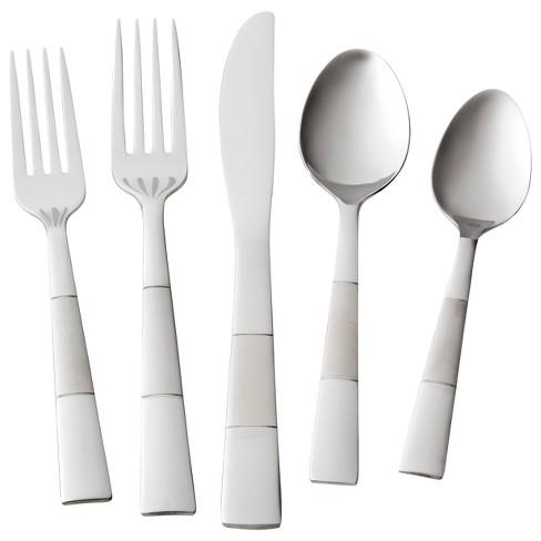 Pharo Silverware Set 20 Pc Stainless Steel Room Essentials Target