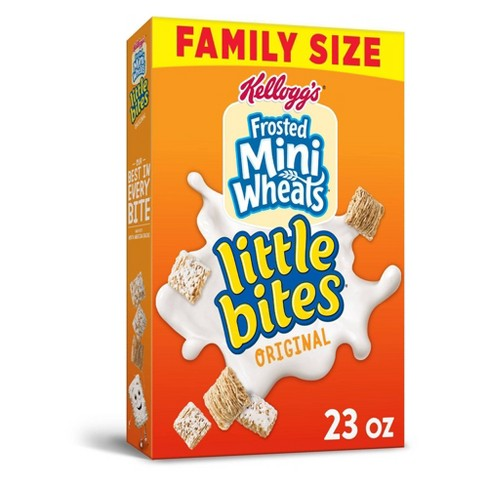 Frosted Mini Wheats Breakfast Cereal - 23oz - Kellogg's - image 1 of 4