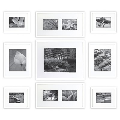 Gallery Perfect Picture Frame White 9pk - Gallery Solutions