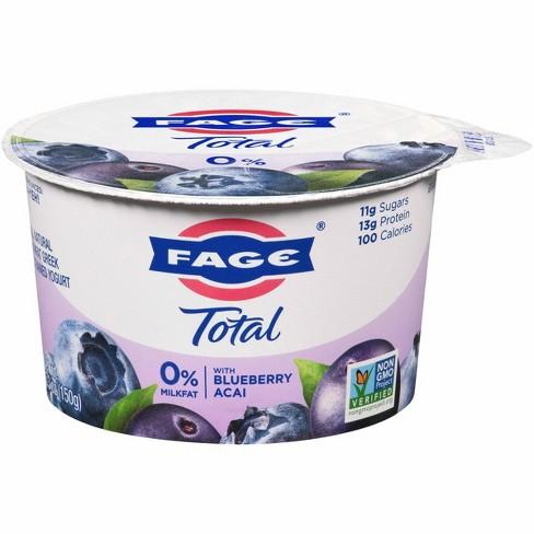 FAGE Total 0% Milkfat Blueberry Acai Greek Yogurt - 5.3oz - image 1 of 1