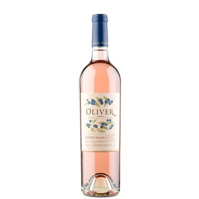 Oliver Blueberry Moscato Wine - 750ml Bottle