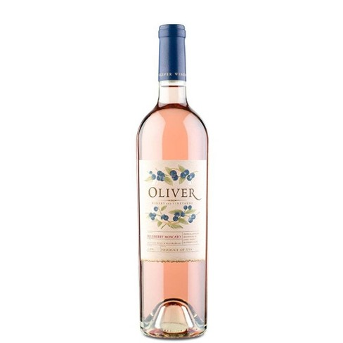 Oliver Blueberry Moscato Fruit Wine -750ml Bottle - image 1 of 1