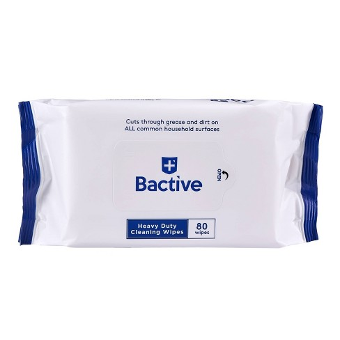 Zuru Bactive Heavy Duty Cleansing Wipes - 80ct - image 1 of 4