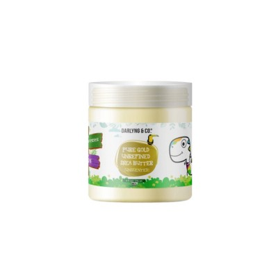 Darlyng & Co. Pure Gold Unrefined Shea Butter Baby Lotion - Unscented - 8oz