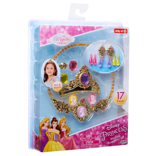 Disney Princess Majestic Collection Accessory Set 17pc image number null