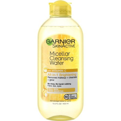Garnier SkinActive Micellar Cleansing Water All-In-1 Brightening with Vitamin C - 13.5 fl oz