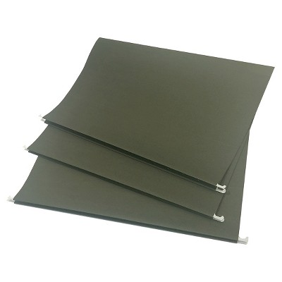 Hanging File Folders Letter Size 20ct Green - Up&Up™