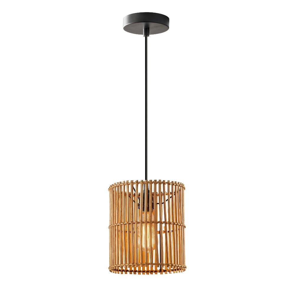 Image of Cabana Small Pendant Ceiling Light Black - Adesso