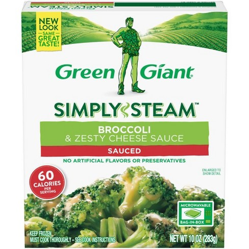Green Giant Frozen Steamers Broccoli & Cheese Sauce - 10oz - image 1 of 3
