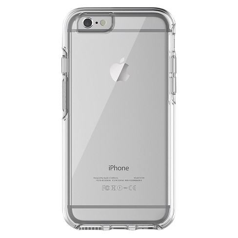 clear red iphone 6 case