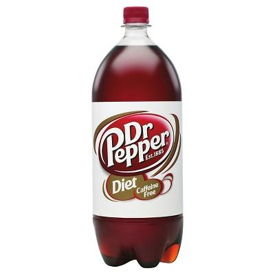 Caffeine Free Diet Dr. Pepper Soda - 2 L Bottle