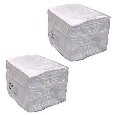 Streetfyter SFO-70 Heavy Duty 18 Inches Long x 16 Inches Wide Oil Only Sorbent Lightweight Pad, White (2 Pack)
