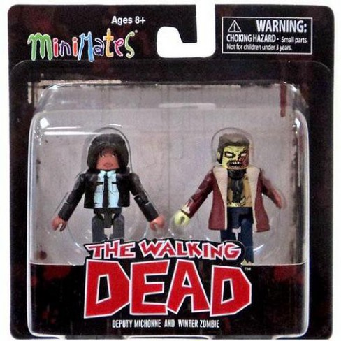 The Walking Dead Minimates Series 6 Deputy Michonne and Winter Zombie Minifigure 2-Pack - image 1 of 1