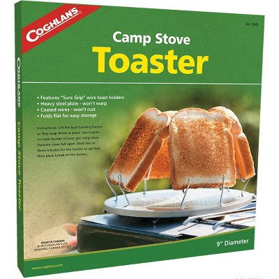 Coghlan's Camp Stove Toaster Steel Wire Toast Holders Compact Camping Cookware