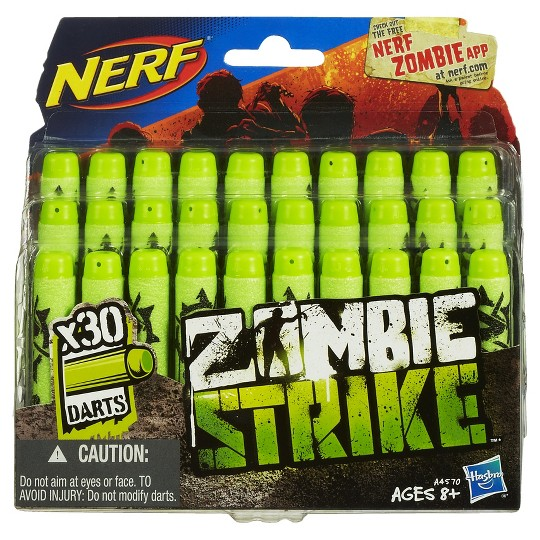 NERF Zombie Strike 30-Dart Refill Pack image number null