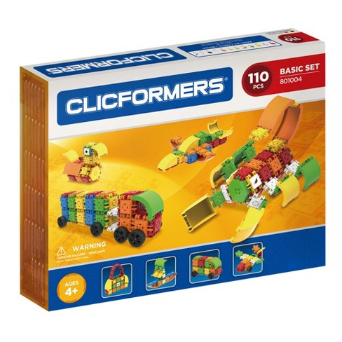 Clicformers Basic Building Set - 110pc - image 1 of 7
