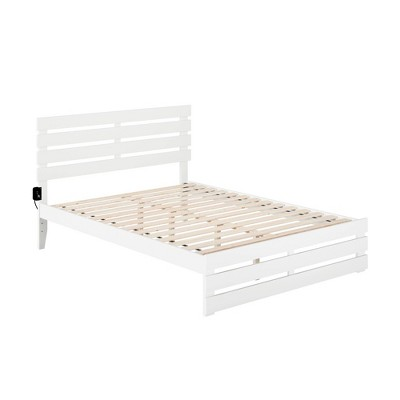 Oxford Bed with Footboard and USB Turbo Charger - Atlantic Furniture