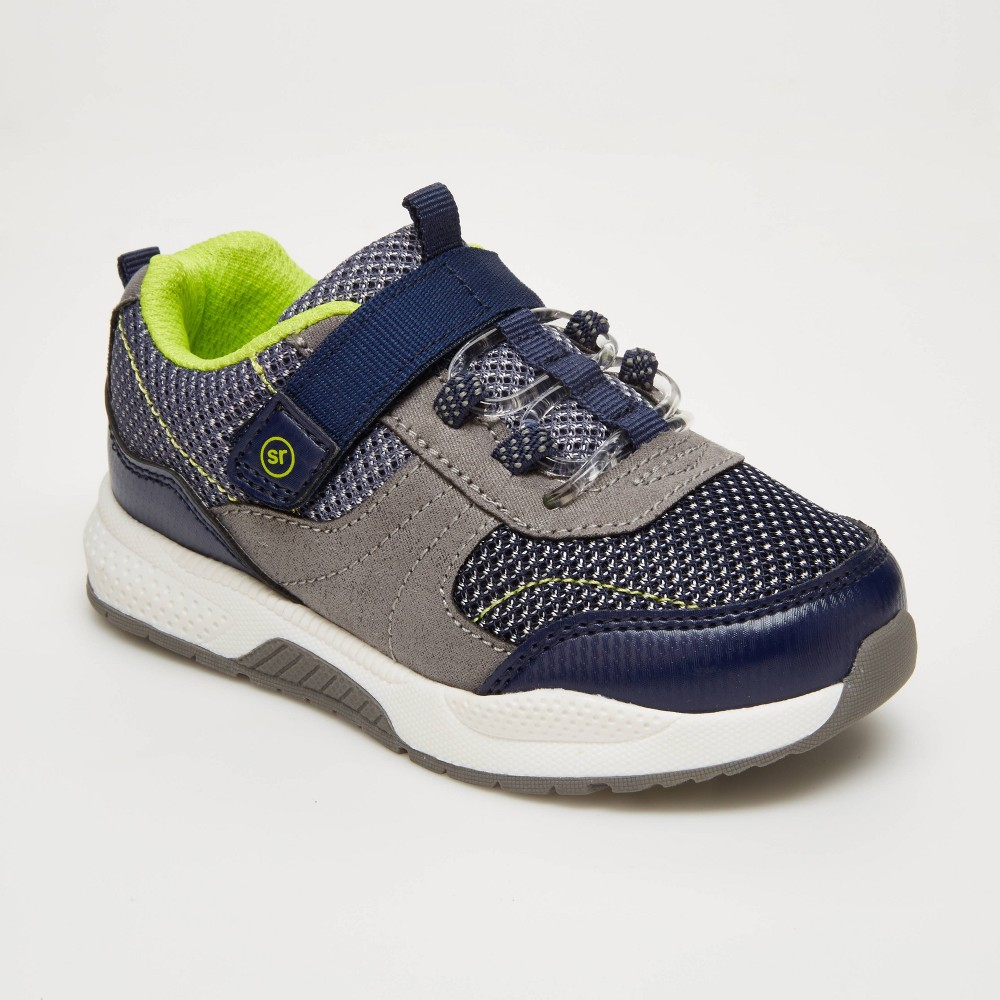 Toddler Surprize By Stride Rite Revel Apparel Sneakers Navy 5