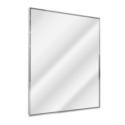 "24"" x 30"" Spectrum Chrome Mirror - Head West"