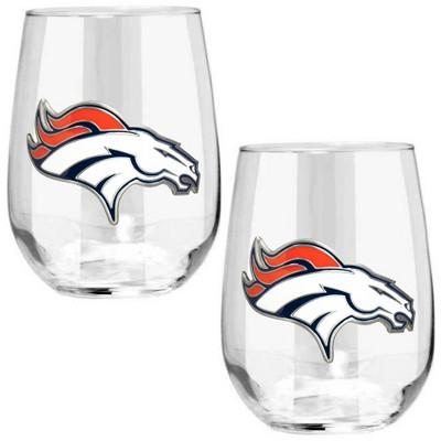 Denver Broncos4Pc Wine Charm Set
