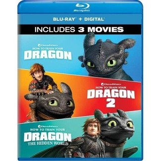 How To Train Your Dragon 3-Movie Collection (Blu-ray + Digital) : Target