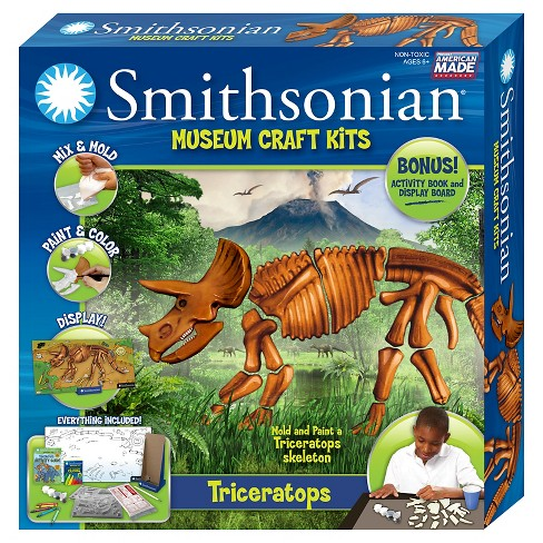 Smithsonian® Museum Craft Kit - Triceratops - image 1 of 2