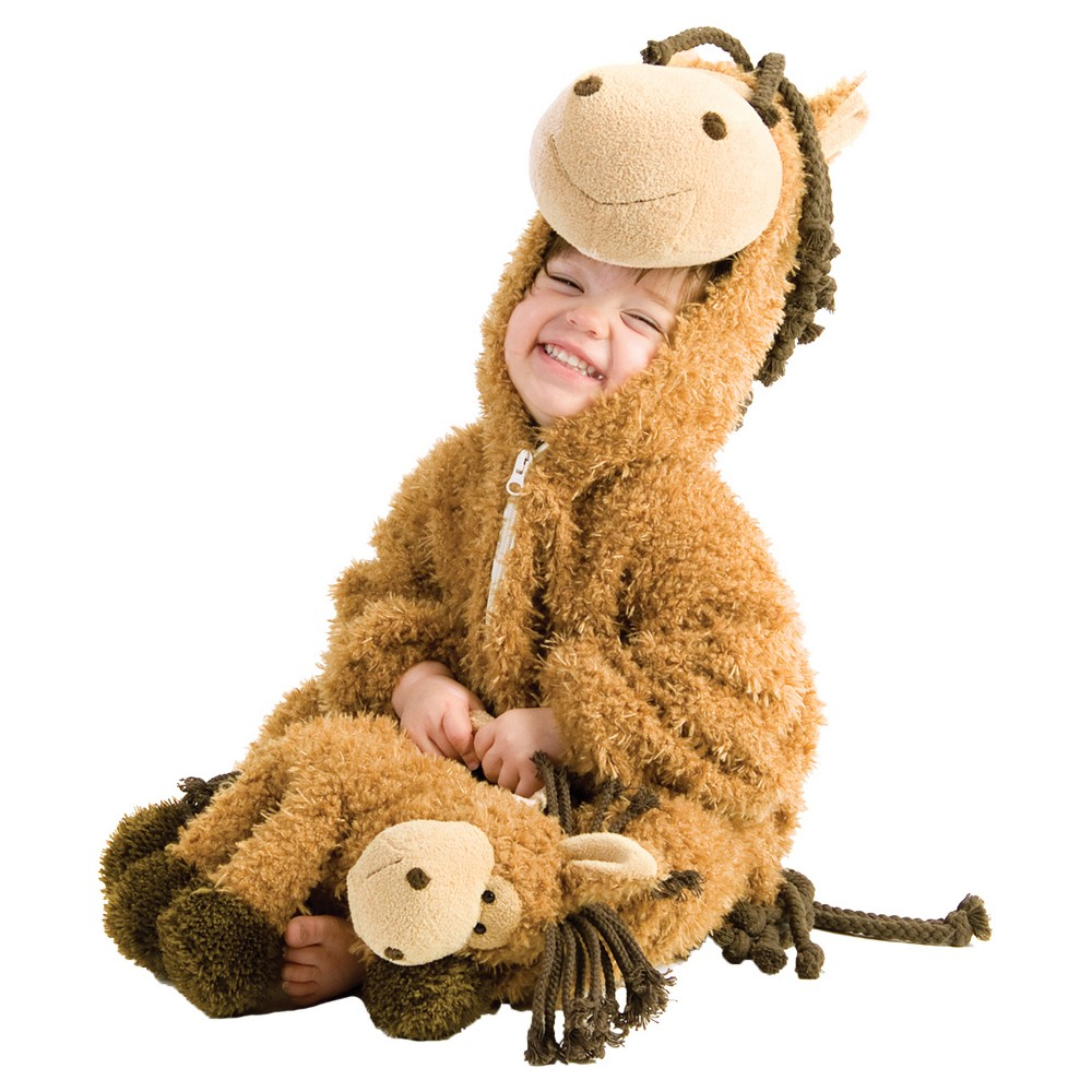 Image of Halloween Toddler Happy Horse Costume 12-18m, Adult Unisex, MultiColored