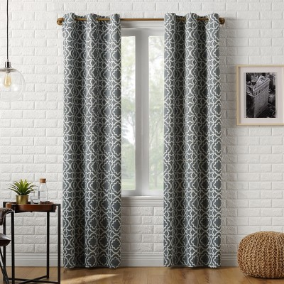 Barnett Trellis Blackout Grommet Top Curtain Panel - Sun Zero