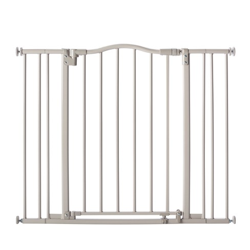 "Toddleroo By North States Arched Auto Close Baby Gate Gray - 28.25"" - 38.25"" Wide - image 1 of 4"
