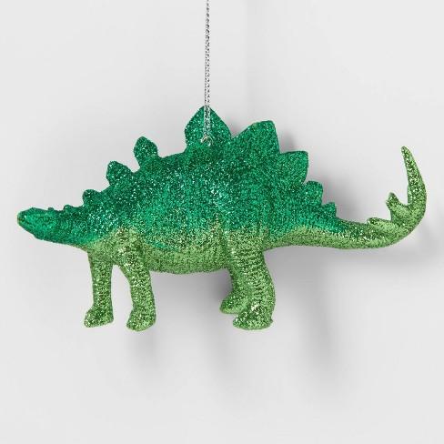 Glitter Dinosaur Christmas Tree Ornament Green - Wondershop™ - image 1 of 2