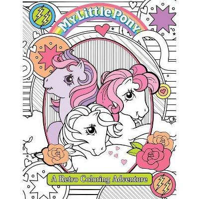 My Little Pony Retro Coloring Book - (Paperback) : Target