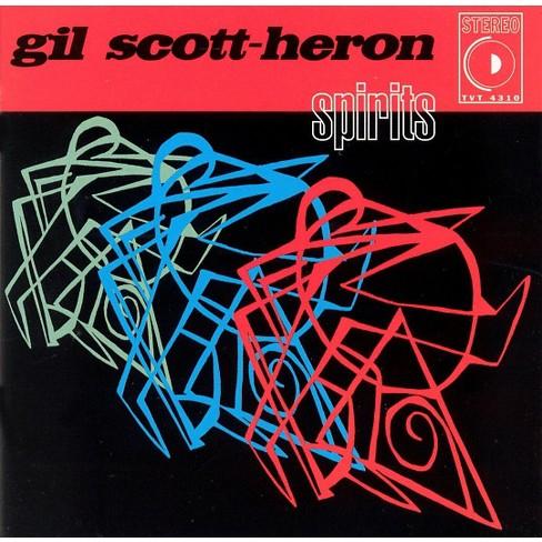 Gil Scott-Heron - Spirits (CD) - image 1 of 3