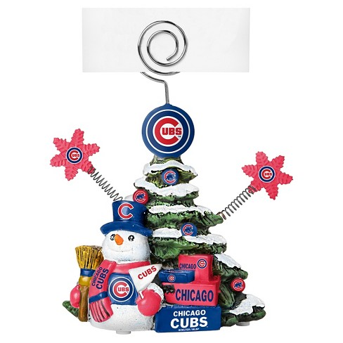 Cubs Christmas Ornaments.Topperscot By Boelter Brands Chicago Cubs Holiday Tree Photo