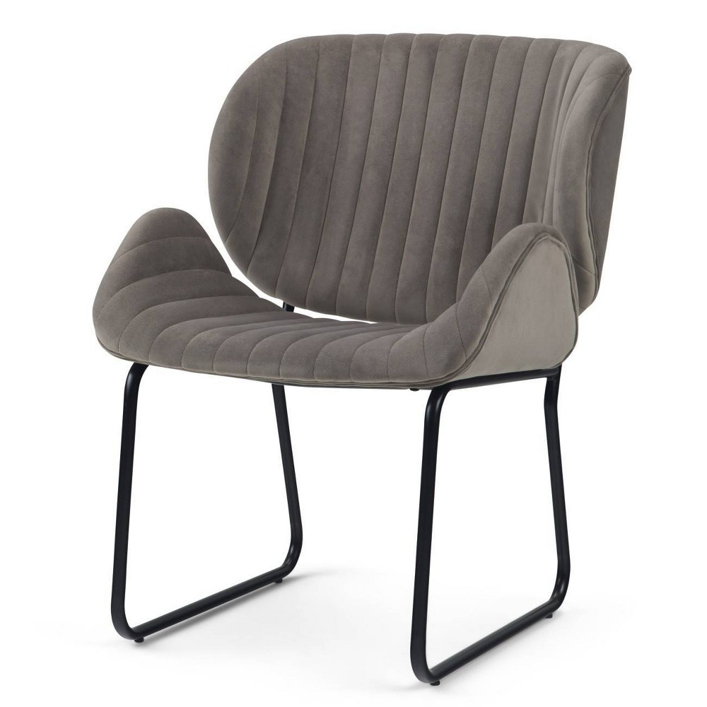 """Image of """"24"""""""" Sia Accent Chair Taupe - Wyndenhall"""""""