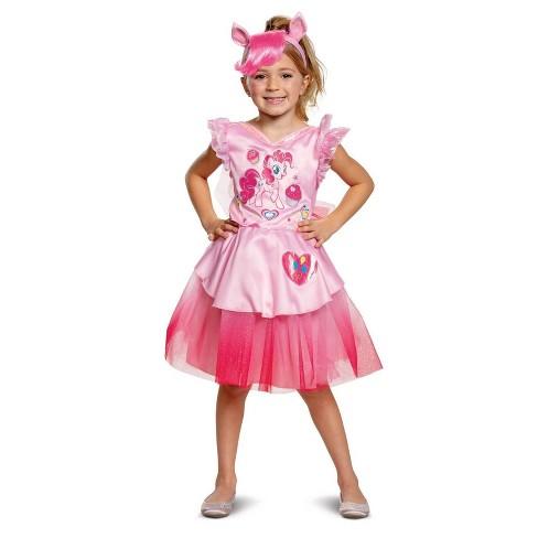 Girls' My Little Pony Pinkie Pie Deluxe Halloween Costume - image 1 of 1