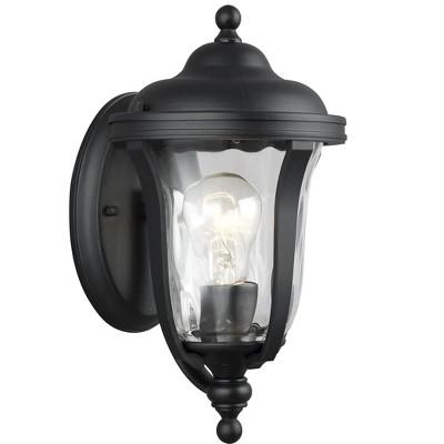 Generation Lighting Perrywood 1 light Black Outdoor Fixture 8414201-12
