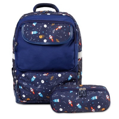 J World Sprouts Kids' 10.5'' Backpack and Pencil Case Set