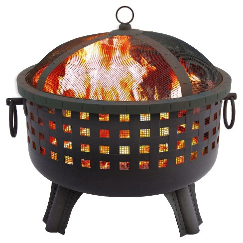 Landmann Savannah Fire Pit in Steel - Black - image 1 of 2