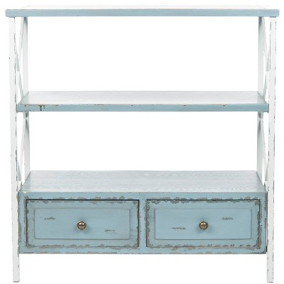 Chandra Console Table - Blue/White - Safavieh®