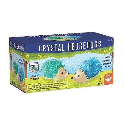 MindWare Crystal Creations Hedgehogs: Cool Colors - Science and Nature - 2 Pieces