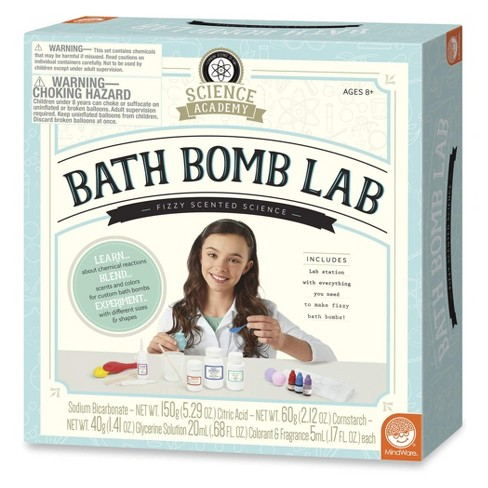 Mindware Science Academy Bath Bomb - Blue - image 1 of 1