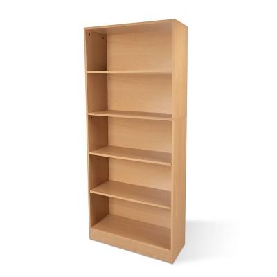 """64.8"""" Oskar 5 Shelf Bookcase - Atlantic"""
