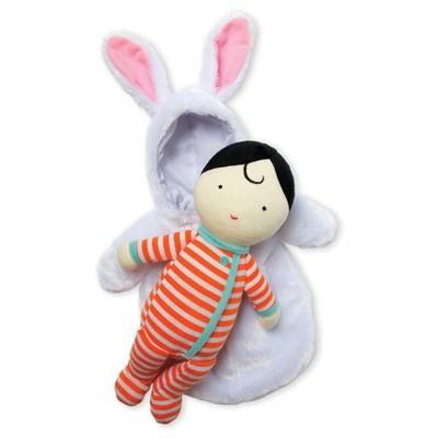 Manhattan Toy Snuggle Baby Doll & Hooded Bunny Sleep Sack