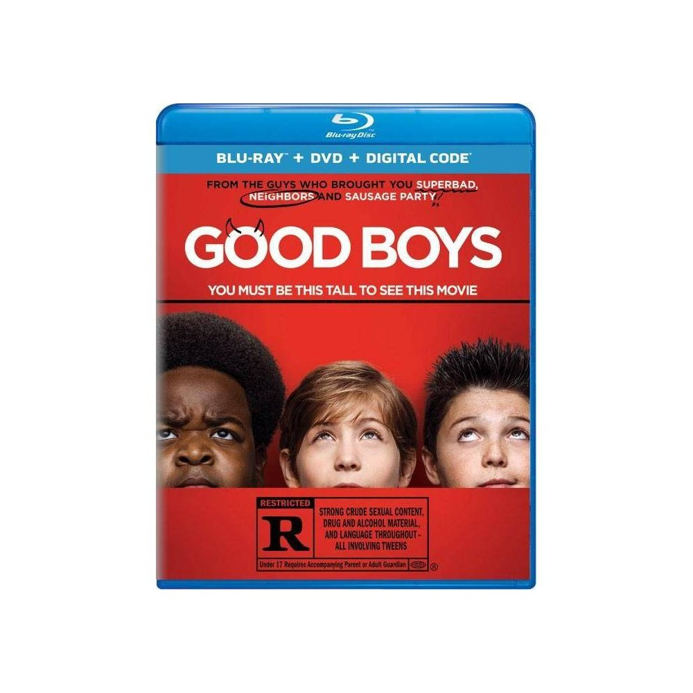 Good Boys (Blu-ray), Movies was $24.99 now $10.0 (60.0% off)