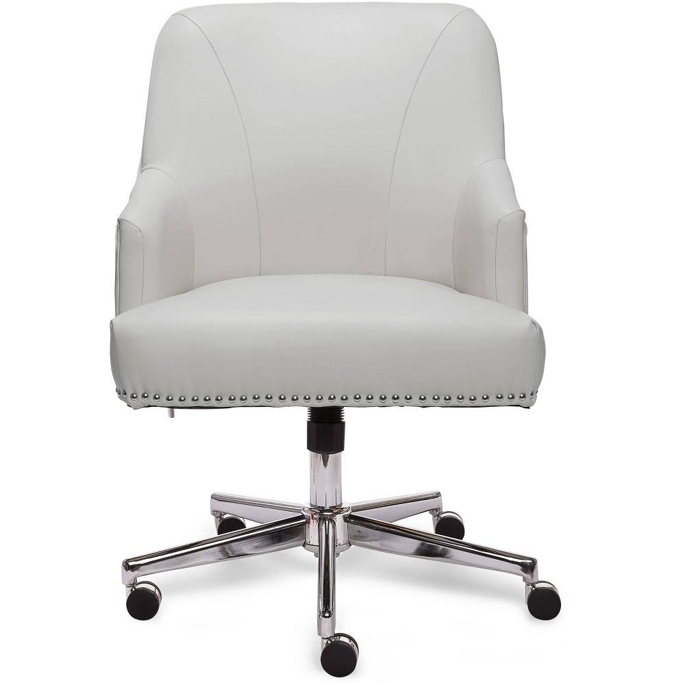 Style Leighton Home Office Chair Clean White - Serta, Gray