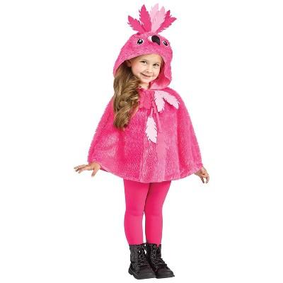 Kids' Cape Flamingo Hooded Halloween Costume
